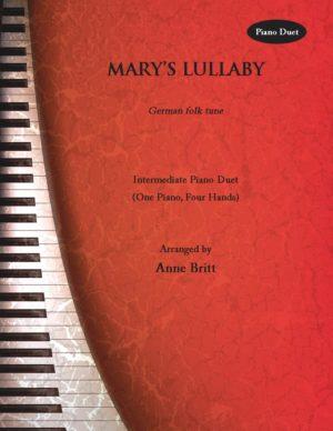 Mary's Lullaby – intermediate piano duet