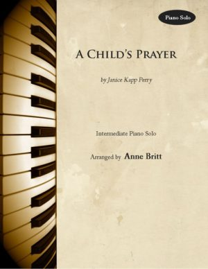 A Child's Prayer – Intermediate Piano Solo
