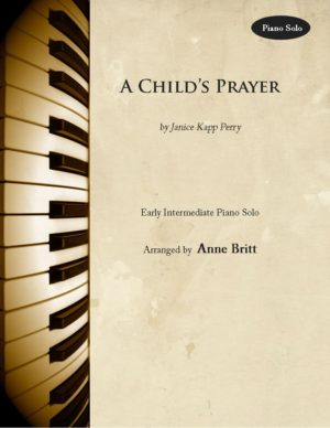 A Child's Prayer – early intermediate piano solo