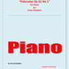 Polonaise Franz Schubert Piano Cover Page. converted e1594201812495