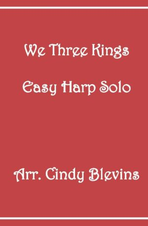 We Three Kings, Easy Harp Solo with recording