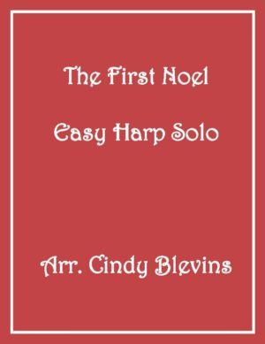 The First Noel, Easy Harp Solo with recording
