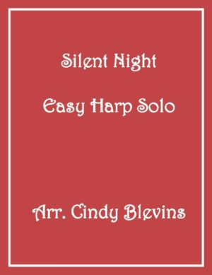 Silent Night, Easy Harp Solo with recording