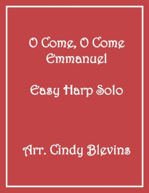 O Come, O Come Emmanuel, Easy Harp Solo with recording