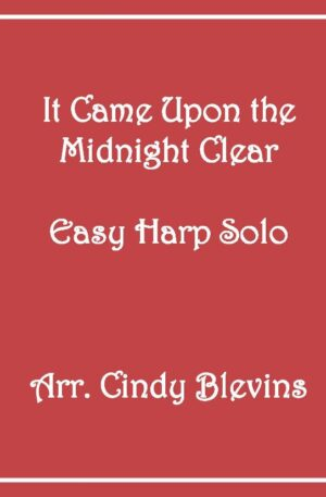 It Came Upon the Midnight Clear, Easy Harp Solo with recording