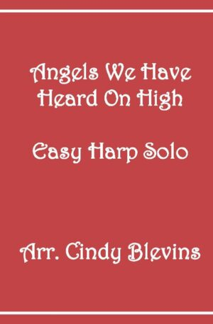 Angels We Have Heard On High, Easy Harp Solo with recording