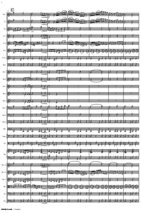 335 Never Alone Orchestra SAMPLE page 04