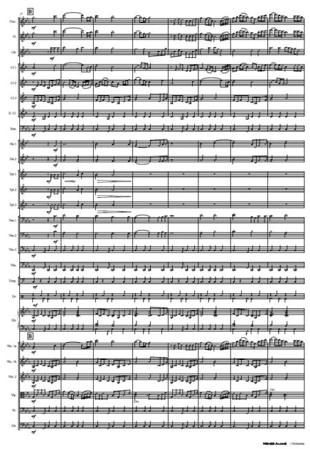 335 Never Alone Orchestra SAMPLE page 03