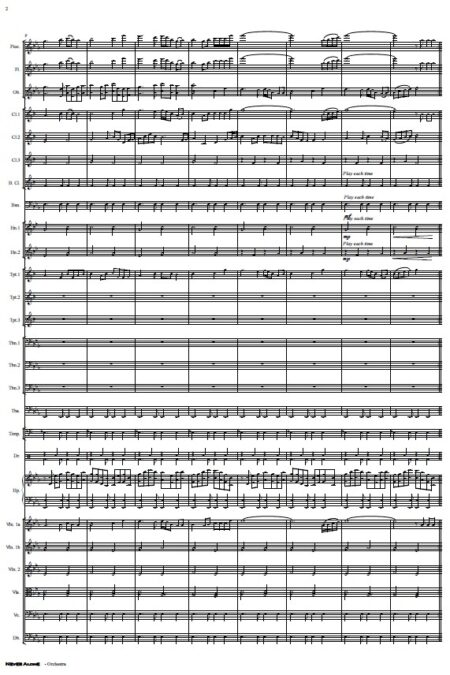 335 Never Alone Orchestra SAMPLE page 02