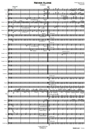 Never Alone – Orchestra