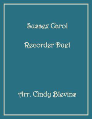 Sussex Carol, Recorder Duet