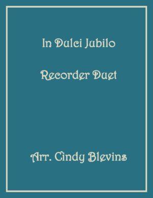In Dulci Jubilo, Recorder Duet