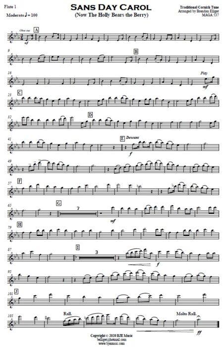 476 Sans Day Carol Concert Band SAMPLE page 07