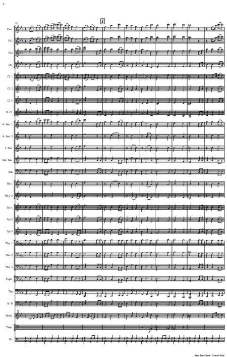 476 Sans Day Carol Concert Band SAMPLE page 06