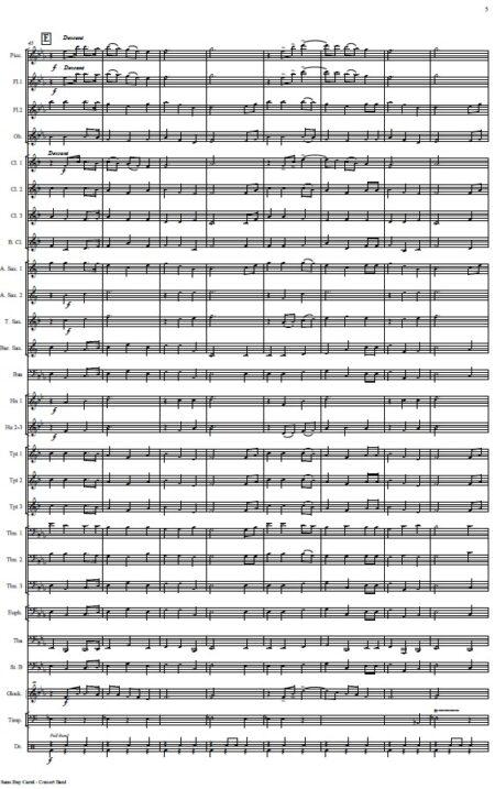 476 Sans Day Carol Concert Band SAMPLE page 05