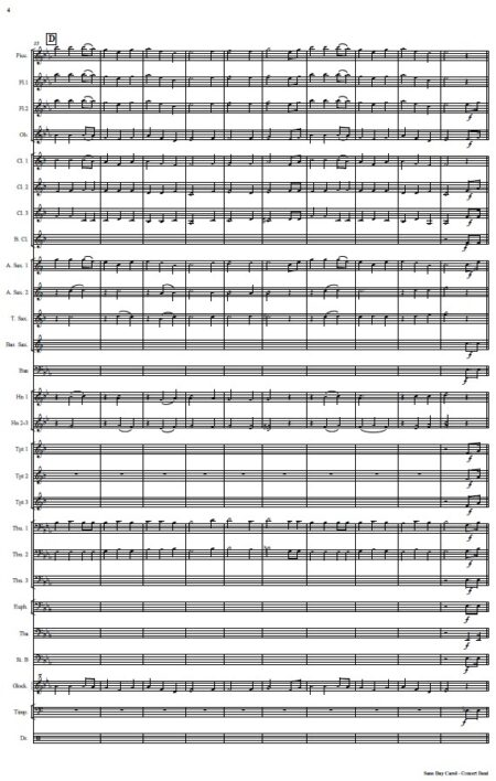 476 Sans Day Carol Concert Band SAMPLE page 04