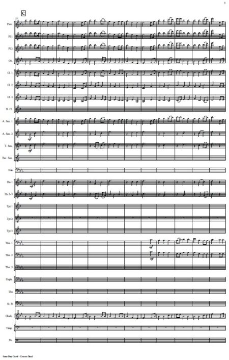 476 Sans Day Carol Concert Band SAMPLE page 03
