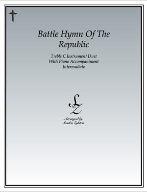 Battle Hymn Of The Republic – Instrument Duet & Piano Accompaniment