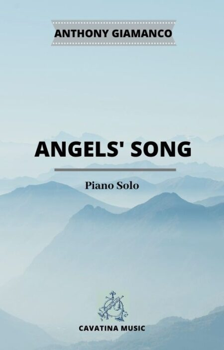 ANGELS' SONG - piano solo