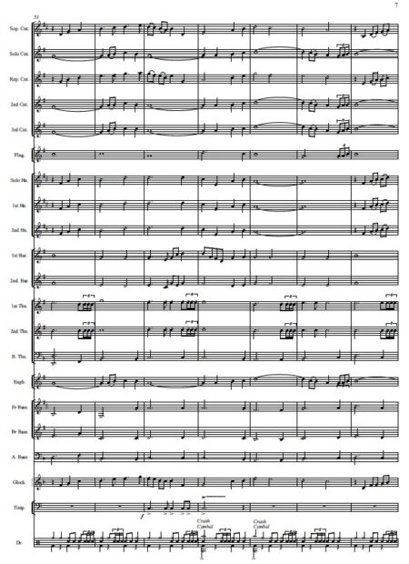 146 When I Survey The Wondrous Cross Celtic Version Brass Band SAMPLE page 07