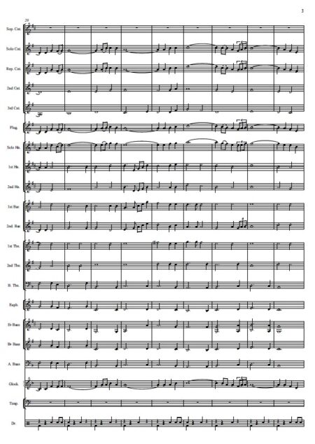 146 When I Survey The Wondrous Cross Celtic Version Brass Band SAMPLE page 03