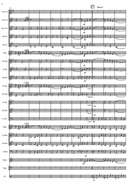 146 When I Survey The Wondrous Cross Celtic Version Brass Band SAMPLE page 02