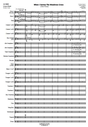 When I Survey The Wondrous Cross (Celtic Version) – Concert Band