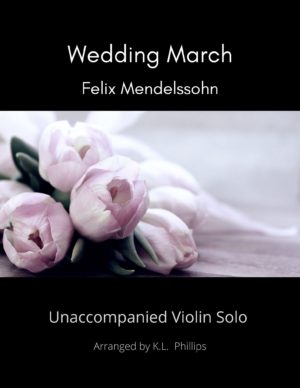 Wedding March – Unaccompanied Violin Solo