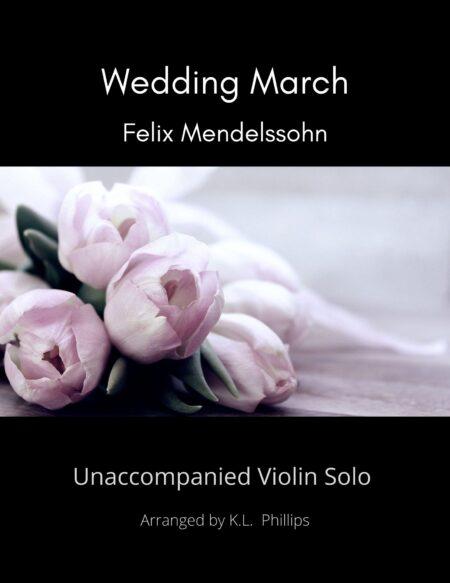 Wedding March Unaccompanied Violin Solo Title