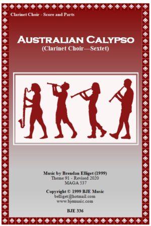 Australian Calypso – Clarinet Choir (Sextet)