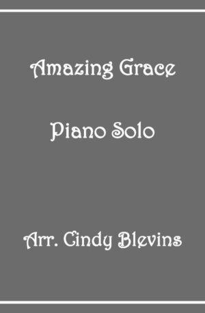 Amazing Grace, Intermediate Piano Solo