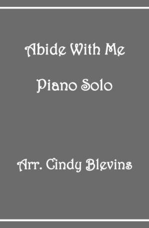 Abide With Me, Intermediate Piano Solo