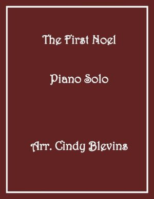 The First Noel, Intermediate Piano Solo