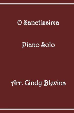 O Sanctissima, Intermediate Piano Solo
