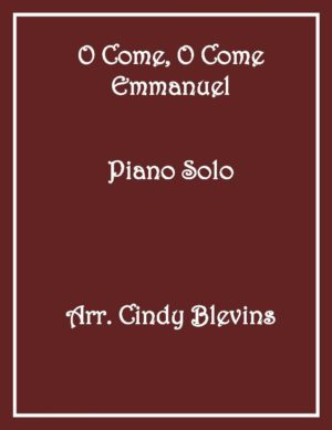 O Come, O Come Emmanuel, Intermediate Piano Solo