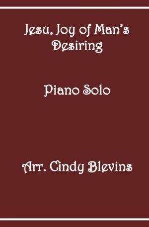 Jesu, Joy of Man's Desiring, Intermediate Piano Solo