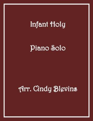 Infant Holy, Intermediate Piano Solo