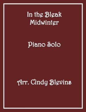 In the Bleak Midwinter, Intermediate Piano Solo