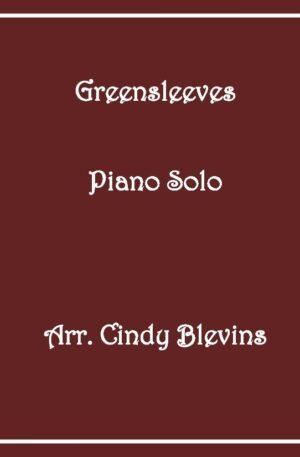 Greensleeves, Intermediate Piano Solo