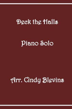 Deck the Halls, Intermediate Piano Solo