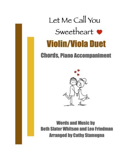 VlnVla Duet Let Me Call You Sweetheart title JPEG