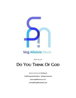 Do You Think Of God?