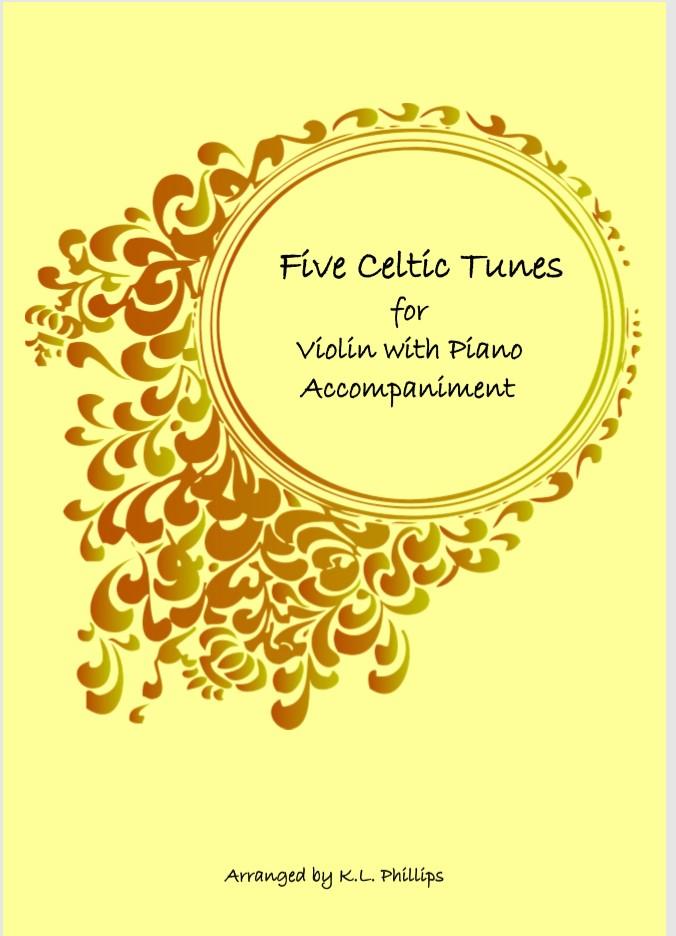 Five Celtic Tunes - Violin Solo with Piano Accompaniment