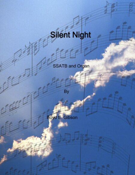 Silent Night Revised meter SATB and Organ cover page 001
