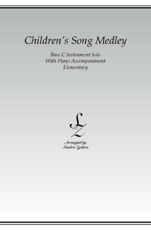 Children's Song Medley -Bass C Instrument Solo