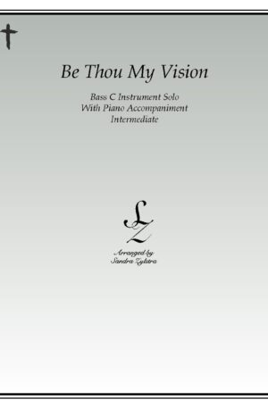 Be Thou My Vision -Bass C Instrument Solo