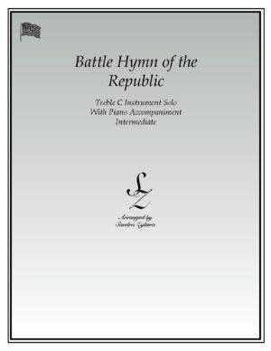 Battle Hymn Of The Republic -Treble C Instrument Solo