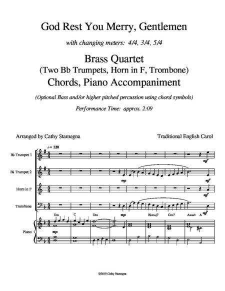 BRASS Q God Rest You Merry Gentlemen dragged 3 pdf
