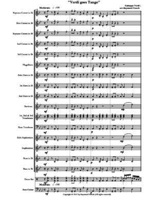 Verdi Goes Tango – For Brass Band