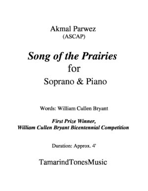 Song of the Prairies for Soprano & Piano